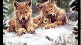 Животные зимой в лесу