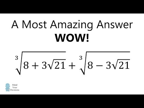 WOW! A Most Amazing Answer