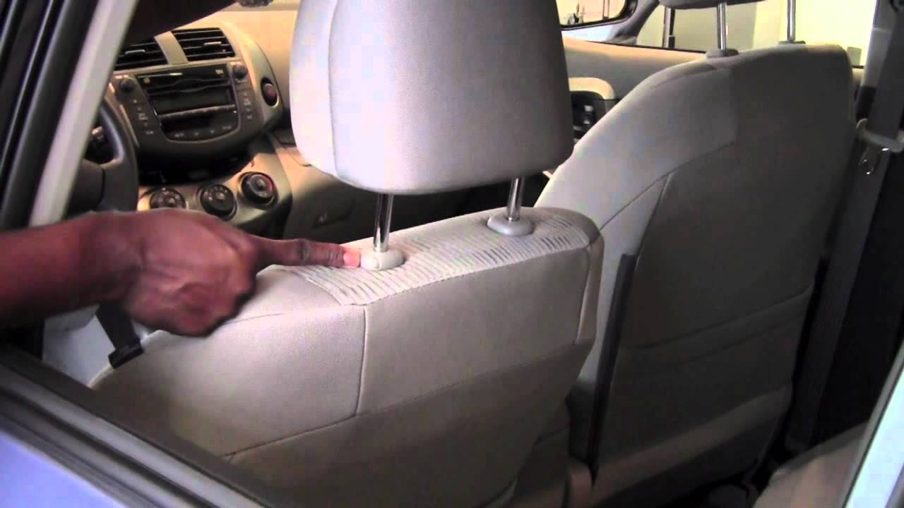 2011 Toyota Rav4 Headrest Adjust And Remove How To