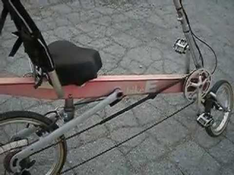 bike e review recumbent bicycle youtube. Black Bedroom Furniture Sets. Home Design Ideas
