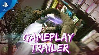 Yakuza Kiwami - Streets of Kamurocho Gameplay | PS4