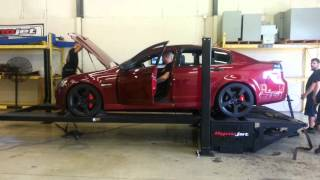 2009 pontiac g8 gt dyno day at RPM in Delaware