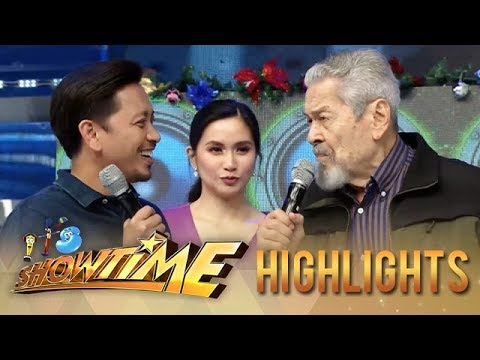 It's Showtime: Eddie Garcia has a message for Jhong
