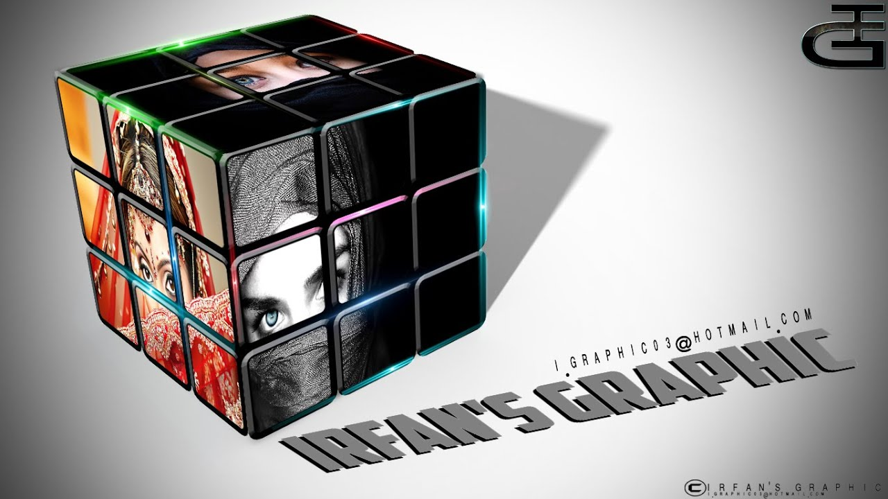 Rubiks cube wallpaper photoshop work hd irfans graphic youtube altavistaventures Image collections