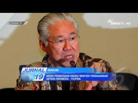 [Headline] Akses Perbatasan Dibuka Menteri Perdagangan antara Indonesia   Filipina