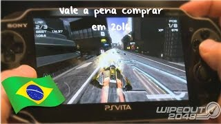 PS Vita - WipEout 2048 Gameplay (Português/BR)