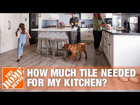 How Much Tile Do I Need for My Kitchen? | The Home Depot