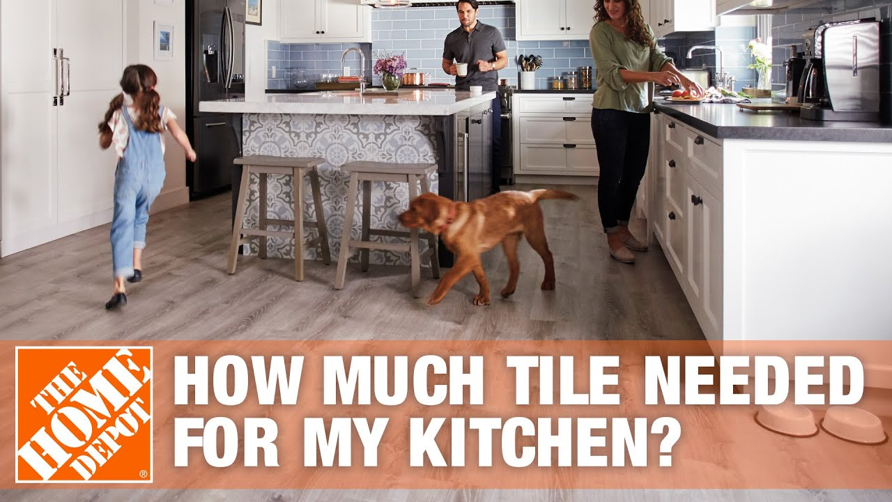 How much tile do i need for my kitchen youtube how much tile do i need for my kitchen dailygadgetfo Gallery
