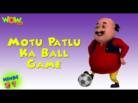Motu Patlu Ball Game - Motu Patlu in Hindi WITH ENGLISH, SPANISH & FRENCH SUBTITLES