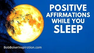 Positive Sleep Affirmations | Soothing Female Voice | Lisa Firestone