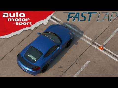 Porsche Cayman GT4 (981) MR: Manthey Racing geht ans Limit - Fast Lap | auto motor und sport