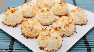 Coconut Macaroons (Banh Dua)