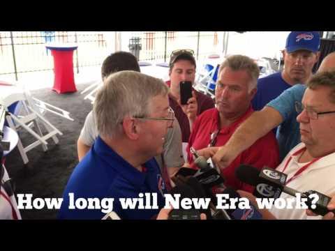 Buffalo Bills training camp - Terry Pegula (8/2/17)