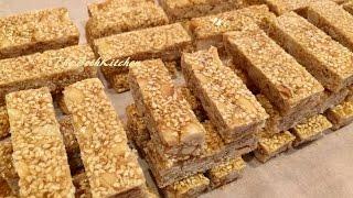 Kẹo Thèo Lèo - Kẹo Đậu Phộng - Crunchy Peanut and Sesame Candy