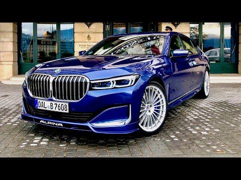 NEW BMW B7 Alpina - 608hp For This Sedan !!