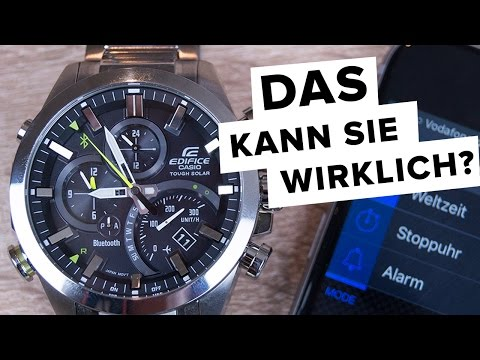 casio edifice eqb 600d 1aer herrenuhr mit solar quarzwerk und bluetooth funktion f r 244 incl. Black Bedroom Furniture Sets. Home Design Ideas