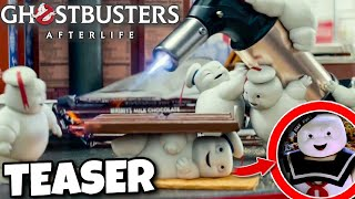 Ghostbusters Afterlife FOOTAGE Reveals Mini Stay Puft Ghosts