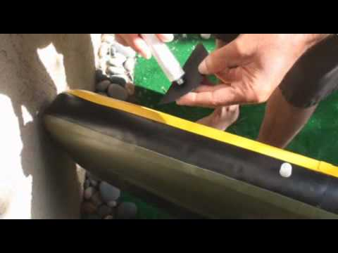 How to repair inflatable Stand up paddleboard (SUP)