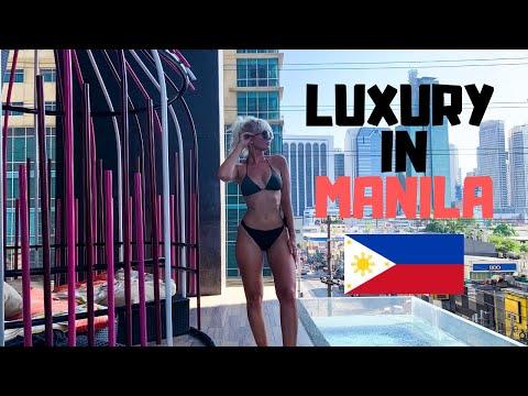 5* LUXURY in Manila! British couple SHOCKED in the Philippines!!!!