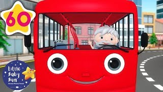 Color Bus Song   +60 Minutes of Nursery Rhymes   Learn With LBB   #howto