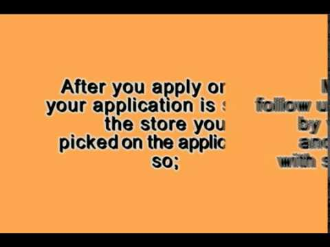 Home Depot Job Application Tips