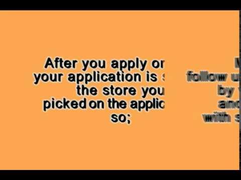 Home Depot Job Application Tips Youtube