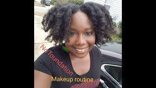 63| Everyday Makeup Look-No Foundation!!/Dark Skin