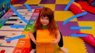 Детская площадка и развлечения для детей !!! Весёлое видео про Давида