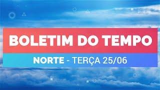 Previsão Norte – Risco de temporais em Macapá e Boa Vista
