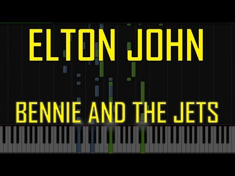 Elton John Bennie And The Jets Piano Tutorial Youtube
