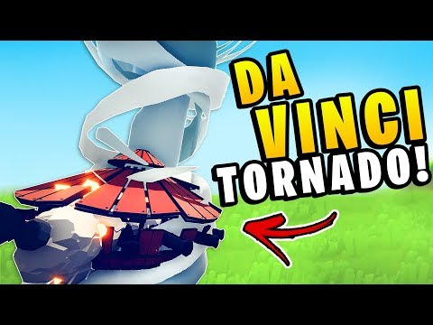 TABS - *NEW* DA VINCI TANK TORNADO! 1v1 Every Unit - Totally Accurate Battle Simulator Renassaince