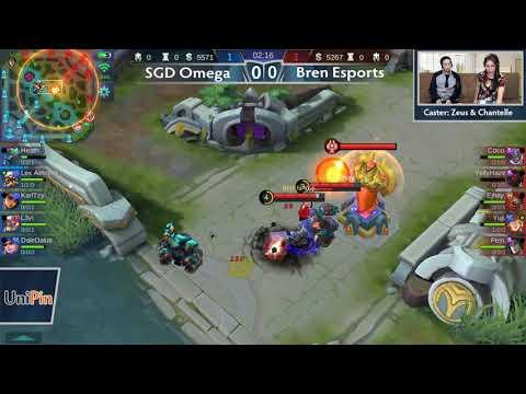 SGD Omega vs Bren Esports / Evos vs ArkAngel Ownage Game 1,2 (BO2) Just ML League 3