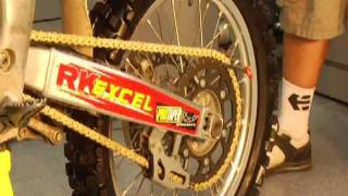 How-To Install Dirt Bike Chains and Sprockets at BikeBandit.com