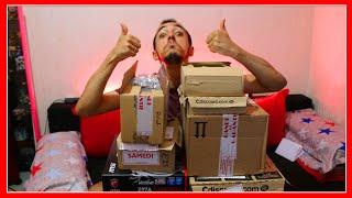 UNBOXING DES PIÈCES POUR MON PC GAMER ( CARTE GRAPHIQUE NVIDIA GEFORCE GTX 1080 ...)