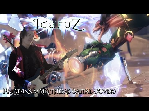 Ivan IcaruZ - Paladins Main Theme (Metal Cover)