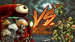 [METAL SLUG ATTACK] Martian Army vs Rebel Infantry