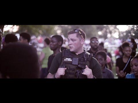 Wichita Ks, All lives-Black Lives Matter Police Cookout [ Devon Bray]