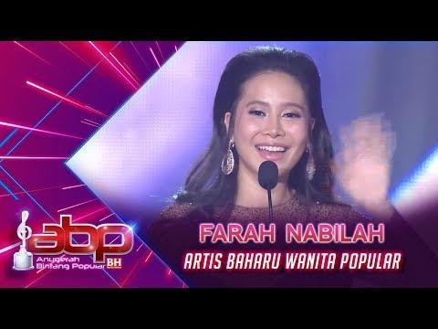 Farah Nabilah - Artis Baharu Wanita Popular | #ABPBH31