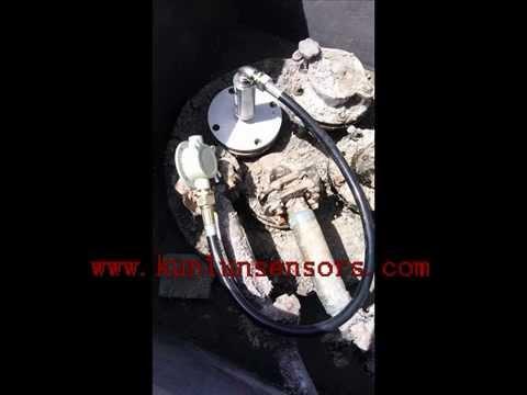 Automatic Tank Gauges, Magnetostrictive probe, diesel fuel tank gauge, gas  station, petrol station