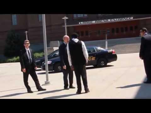 Governor of U.S. State of Pennsylvania Tom Wolf visits Ahmadiyya Muslim convention USA 2015