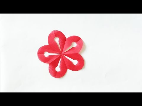 Super easy paper cutting:flower 2
