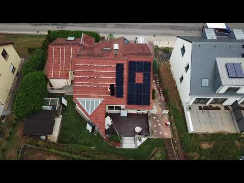 SUNPOWER 13kWp Solar Panels Installation 2/2