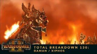 Total Breakdown 130 (WH2) - Dark Elves vs High Elves - Warhammer 2 Fantasy League Tournament Battle