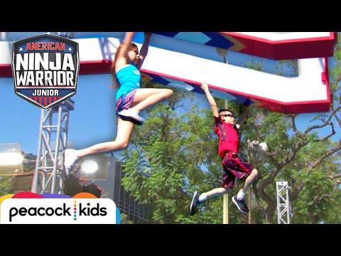 [FULL CLIP] AMERICAN NINJA WARRIOR JUNIOR | Kid Ninja Warrior-in-Training Wins BIG