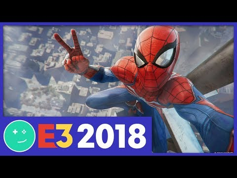 Spider-Man Is Insanely Awesome - Kinda Funny E3 2018