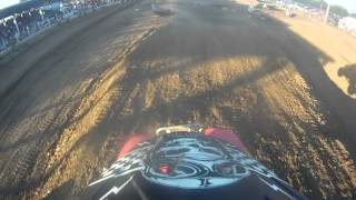 Fulton County Fair 2014 4wheel C first moto
