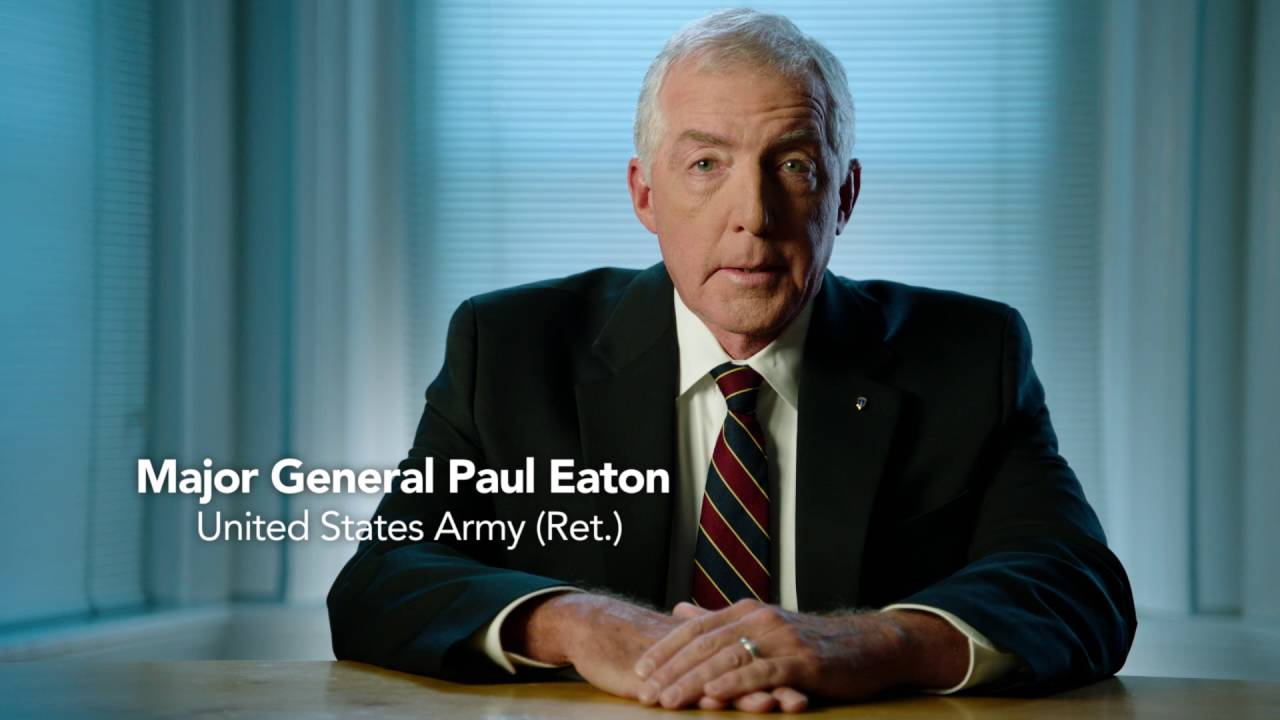 Image result for Major General Paul D. Eaton photo