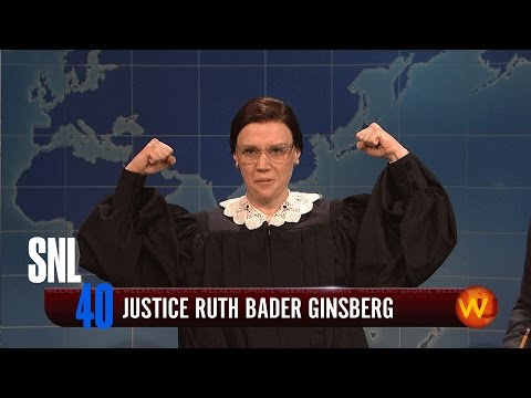Weekend Update: Ruth Bader Ginsberg - SNL