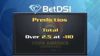 COPA AMERICA 2016 Odds | USA vs Paraguay Predictions