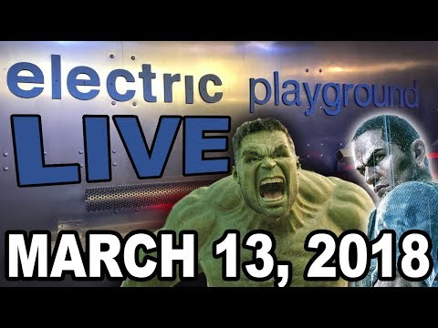 Electric Playground Live! - Sam Witwer Interview, Thor Ragnarok Blu-Ray Review - March 13, 2018